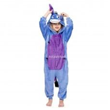 Кигуруми для детей Стич голубой оптом