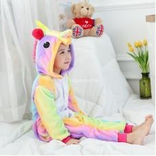 Кигуруми для детей Единорог цветной оптом