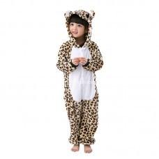 Кигуруми для детей Леопард с сердцами оптом
