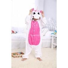 Кигуруми для детей Единорог бело-розовый (Пегас) оптом