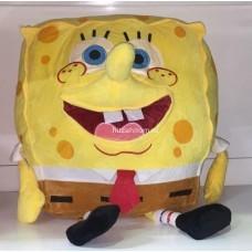 """Мягкая игрушка """"Губка Боб"""" с носом 3D 70 см оптом"""