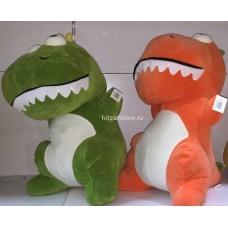 Мягкая игрушка Динозавр с большими глазами оптом