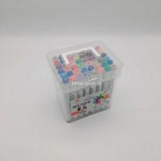 Фломастеры в пластиковой упаковке 48 шт (арт. D-48) оптом