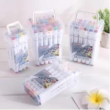 Фломастеры в пластиковой упаковке 24 шт (арт. D-24) оптом