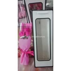 Букет Розы из мыла с подсветкой в пакете (3 розы) оптом