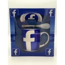 """Подарочный набор - посуда """"Фейсбук"""" оптом"""