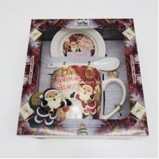 """Подарочный набор - посуда """"С Новым годом"""" (арт. AZ-2021-14) оптом"""
