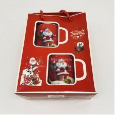 "Подарочный набор - посуда ""Merry Christmas"" (арт. SD-5B) оптом"