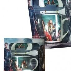 Подарочный набор - посуда Marvel оптом