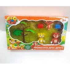 Лео и Тиг набор из 3 фигурок 8511 оптом