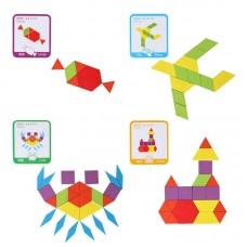 Игра Монтессори геометрические фигуры оптом.