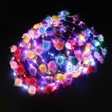 Светящиеся LED венки оптом
