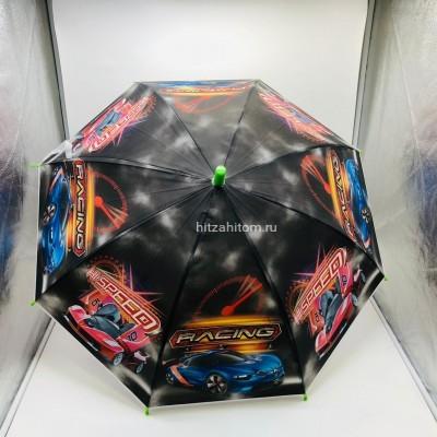 Зонт детский с принтами 4 вида, 12 шт в уп оптом  (арт. K2022)