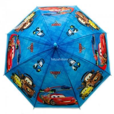 Зонт детский с принтами 4 вида, 12 шт в уп оптом (арт. K002)